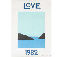 Load image into Gallery viewer, YSL 1982 Love Print
