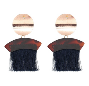 Boheme Fringe Drop Earrings