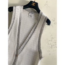 Load image into Gallery viewer, White Chanel knit