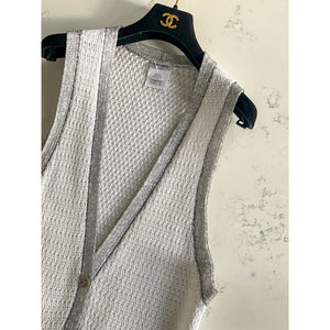 White Chanel knit