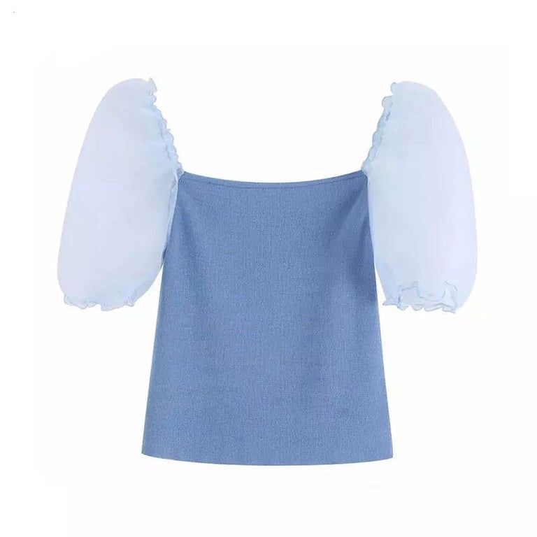 Alexandra Puff Sleeve Top