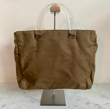 Load image into Gallery viewer, Prada khaki bag
