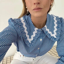 Load image into Gallery viewer, Texas gingham shirt