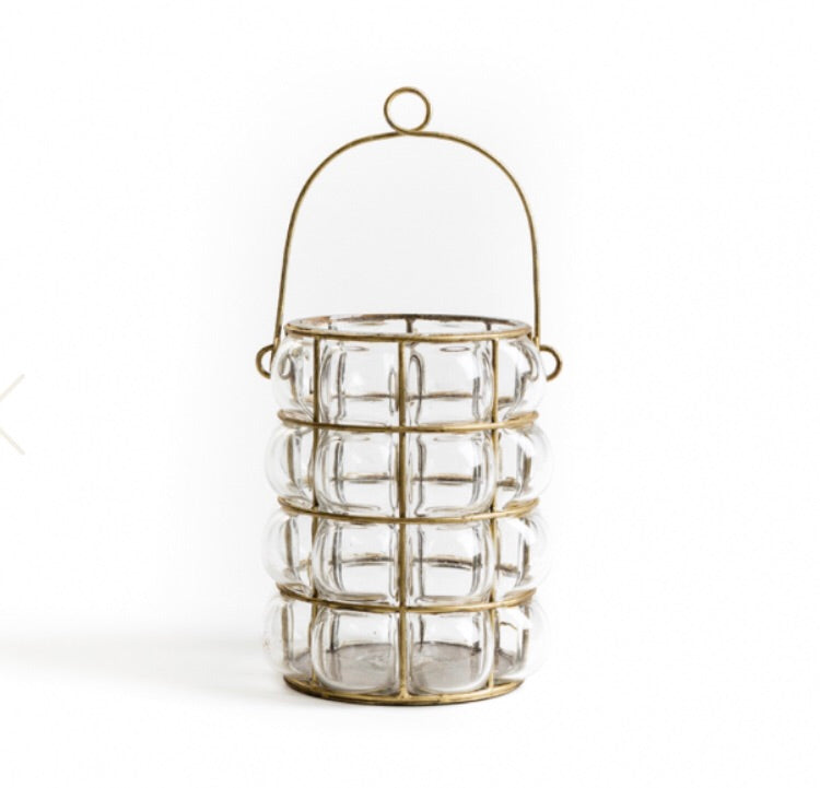 Glass And Brass Lantern