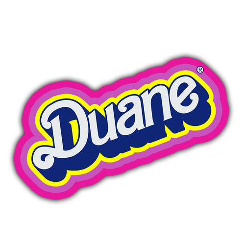 BARBIE DUANE STICKER