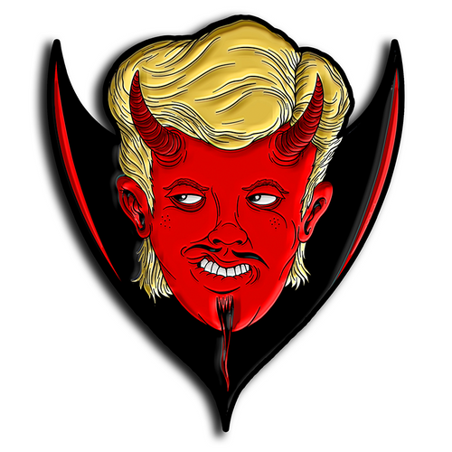 Duane Devil Enamel Pin
