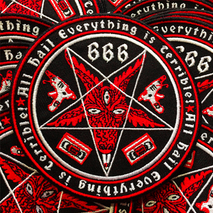 Satanic Coat of Arms Patch