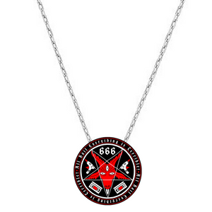 Satanic Coat of Arms Pendant!