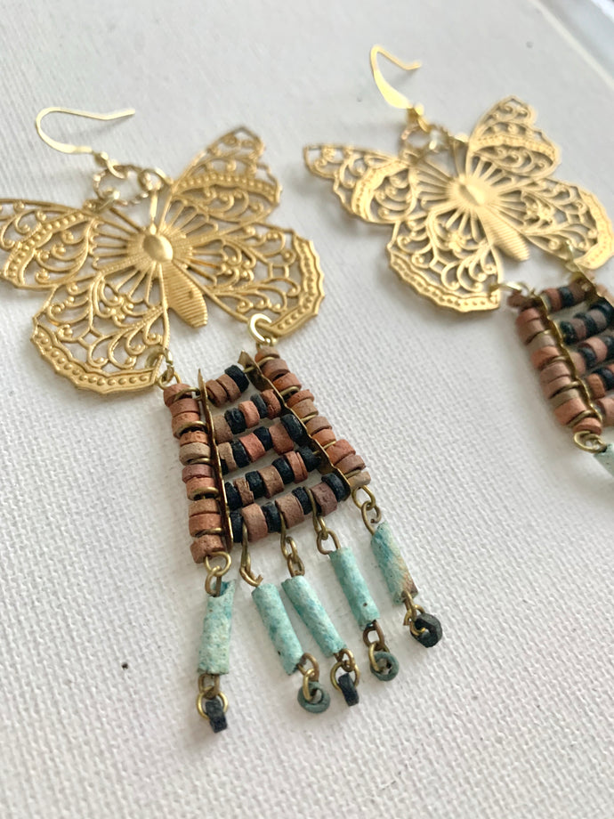 Wanderlust Butterfly Earrings