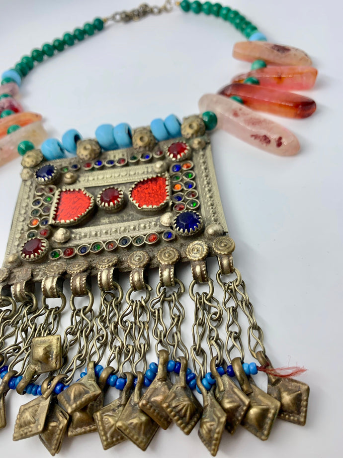 Wanderlust Statement Necklace
