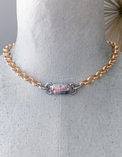Load image into Gallery viewer, Gucci Mixed Metal Hardware Necklace