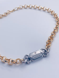Gucci Mixed Metal Hardware Necklace