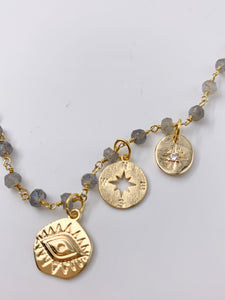 Traveler Compass Necklace