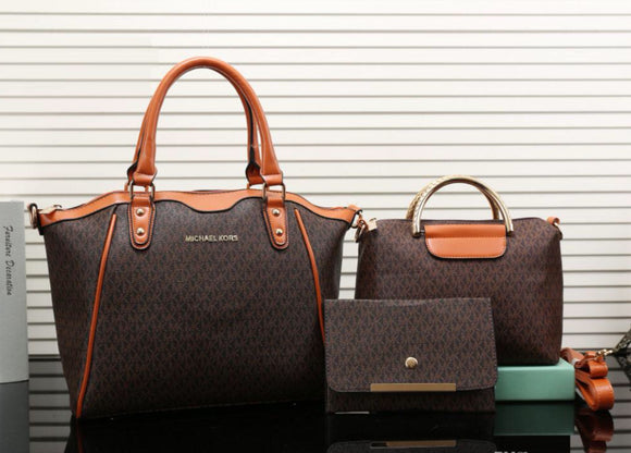 Double H MK Designer Handbag Set