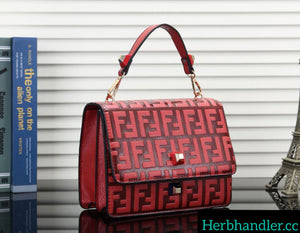 HH Fendi Red Handbag
