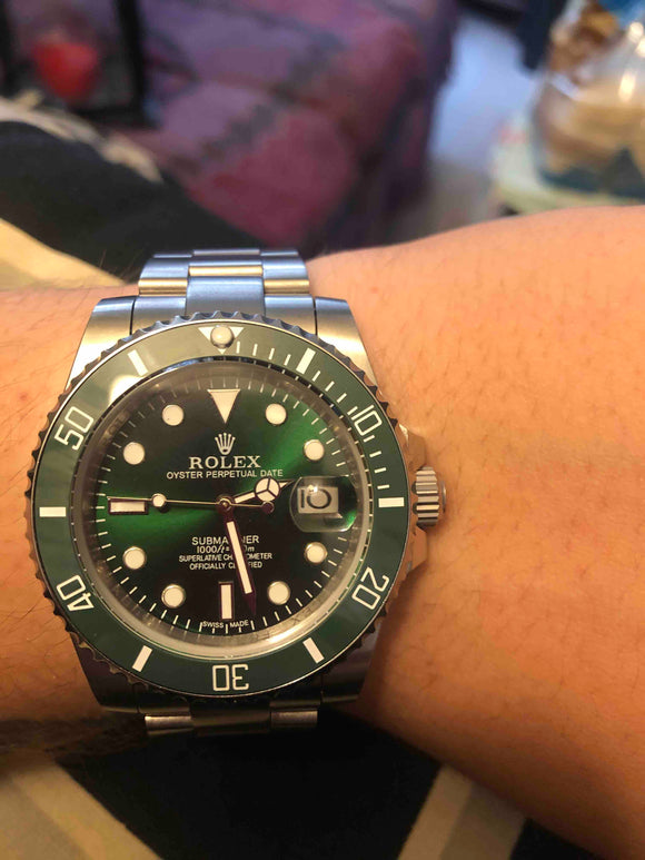 Double H Rolex Green