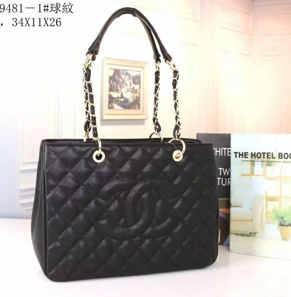 HH CC Black Handbag