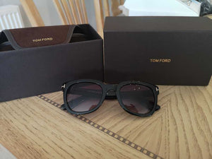 HH T Ford Sunglasses Black