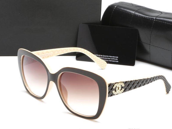 HH Black Chanel Sunglasses