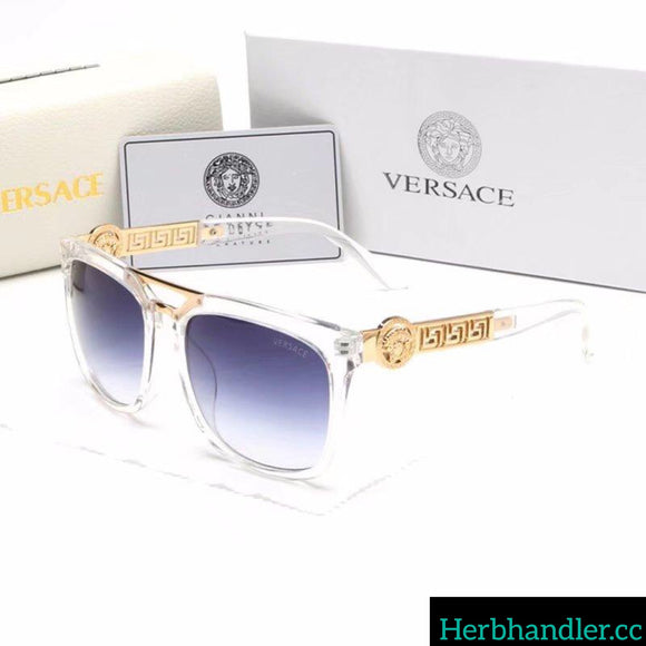Double H White Versace Sunglasses