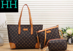 Double H Designer LV Handbag Set