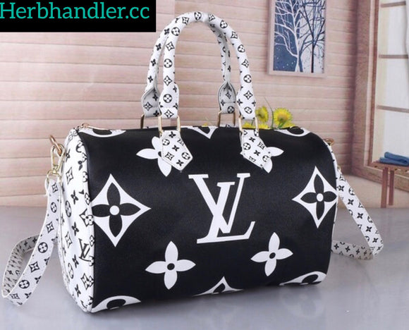 Double H Black LV Handbag
