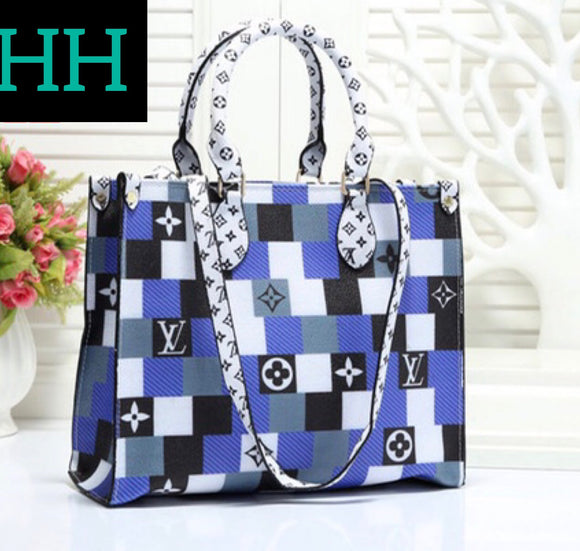 HH Blue LV Handbag