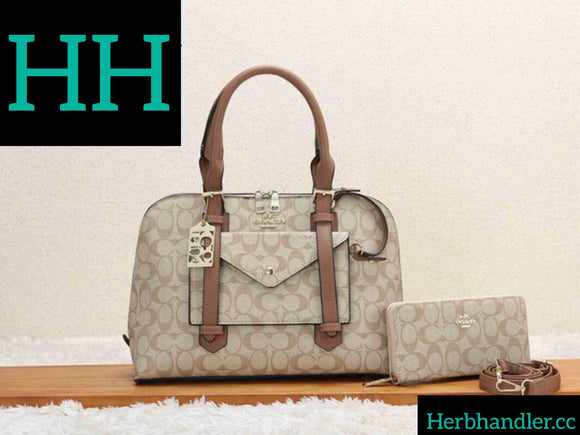 Double H Coach Handbag