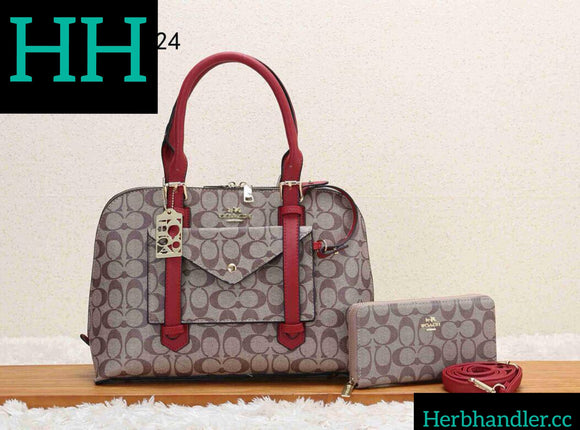 HH Coach Red Handbag