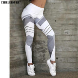 Double H Black/White Leggings