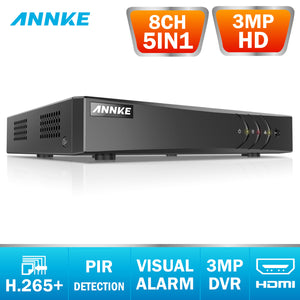 HH DVR 8CH Camera 3MP TVI/CVI/AHD/IP/CVBS 5 in 1 DVR NVR Digital Video Recorder CCTV Security System Surveillance