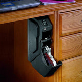 HH Fingerprint Biometric and Spare Key Lock Pistol Safe Box High Quality Steel