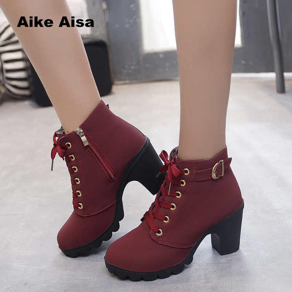 HH Ankle High Heel AA Boots