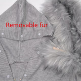 Double H Fur Hood top & bottom set