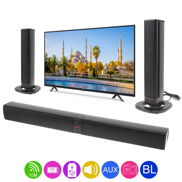 Double H Home Theater Surround Multi-function Bluetooth Soundbar Speaker