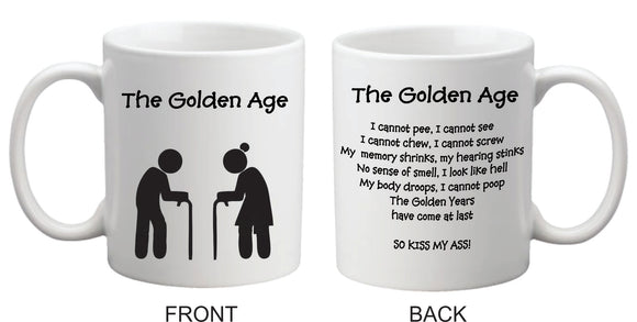 GOLDEN AGE 11oz Coffee Mug