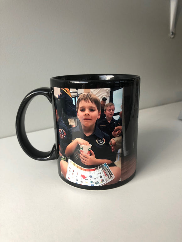 Black Coffee Photo Mug  11oz.