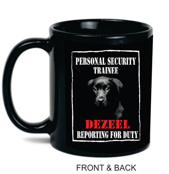 PERSONAL SECURITY 11oz CERAMIC COFFEE MUG