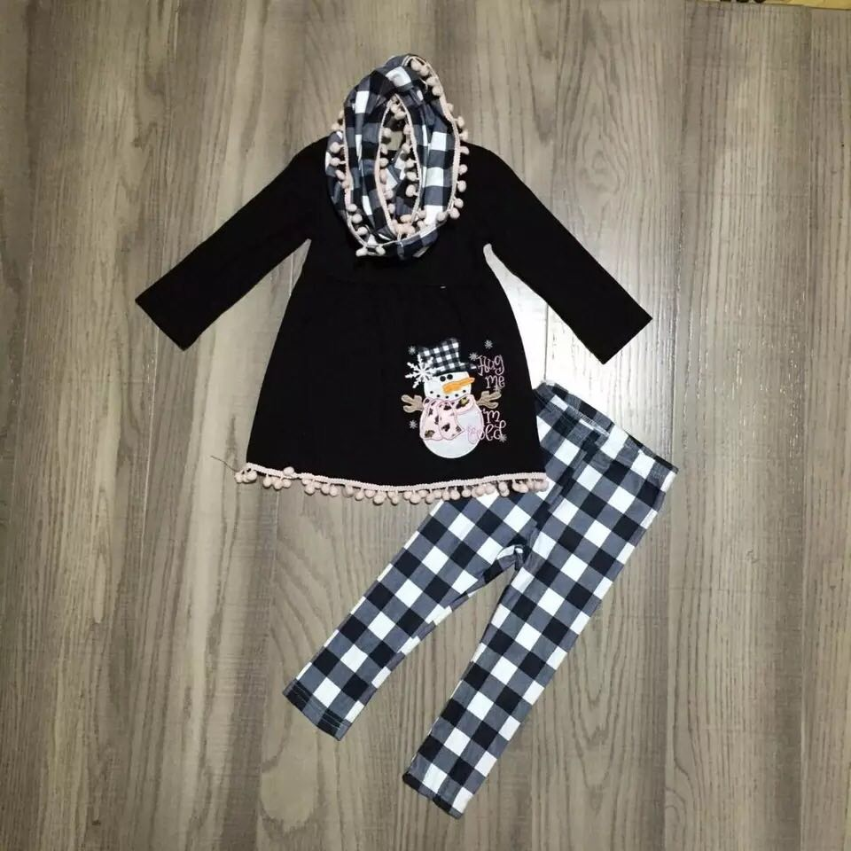 Frosty Pom Pom 3 Piece Set