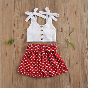 Red and White Lollipop Set