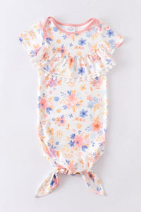 Floral Eyelet Summer Sleep Gown