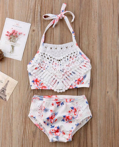 The Sweetest Floral Bikini