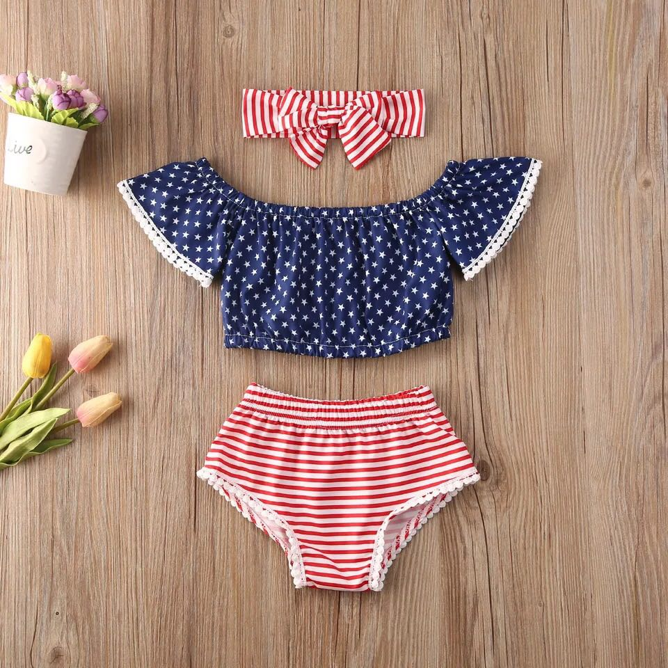 Stars and Stripes 3 Piece Set