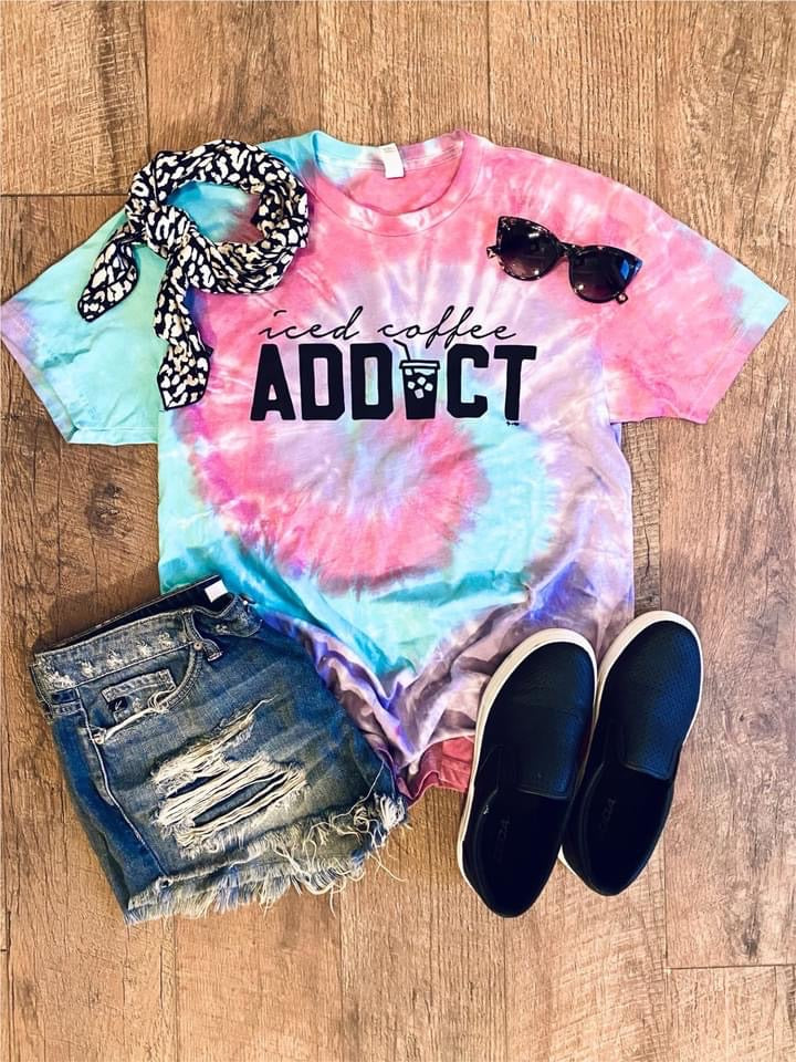 Iced Coffee Addict Tee