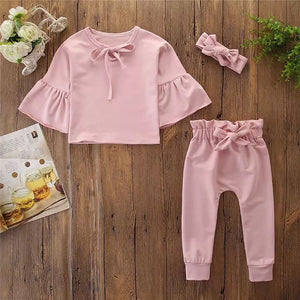Bubble Gum Ruffle Set