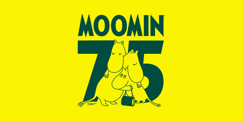 Arabia 75 annivesity moomin mugs stamp