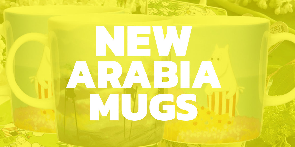 Take A Look: New Arabia Moomin Mugs from The Moominvalley Animation 2020