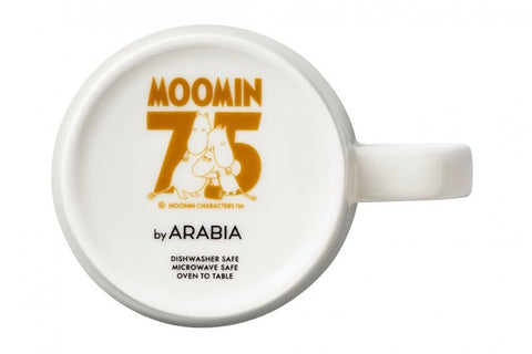 Moomin 75 Years Moomin Mug Stamp by Arabia
