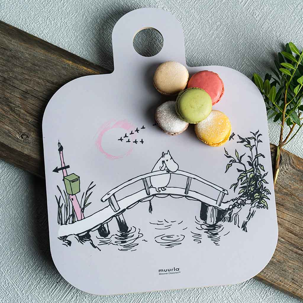 Moomin Chop & Serve Board 25X32cm Missing You