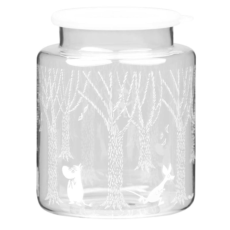 Moomin In the Woods Glass Jar 2L